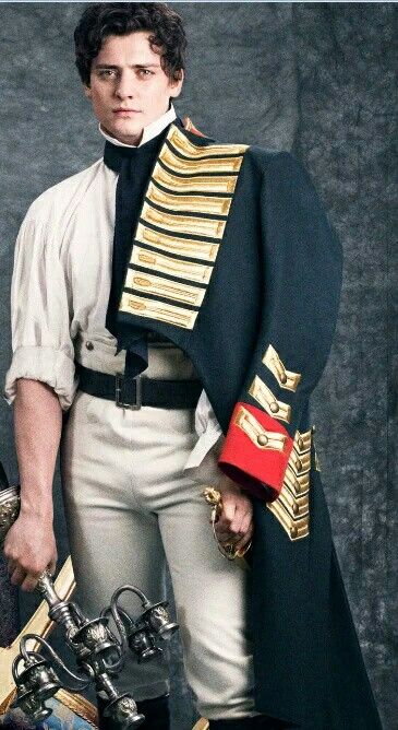 Aneurin Barnard as Boris war and peace