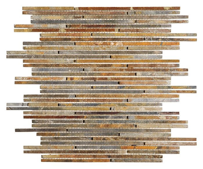 Mozaika kamienna Zen - Dunin - Slate Stick Mix