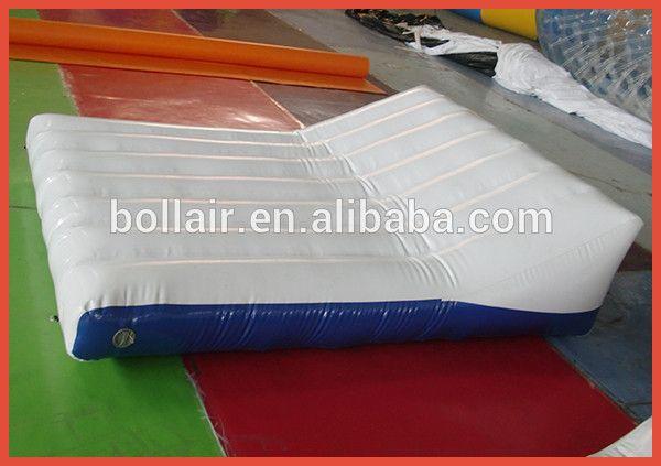 Usine directe pas cher prix flottant gonflable air matelas