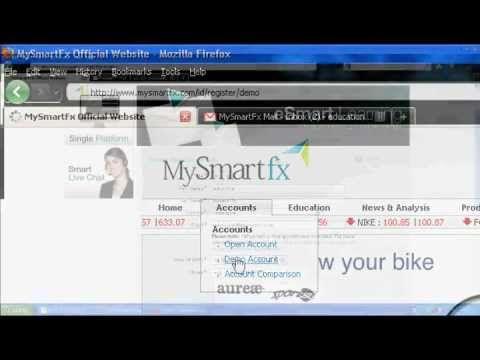 Panduan Registrasi Demo Account | MySmartfx Broker Forex Mini Account