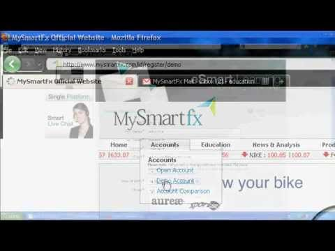 Panduan Registrasi Demo Account   MySmartfx Broker Forex Mini Account