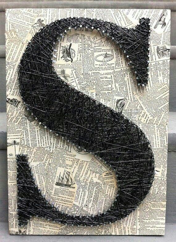 pingl par gabii pm sur diy pinterest clous fils et art filaire. Black Bedroom Furniture Sets. Home Design Ideas