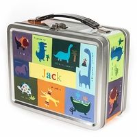 Dino-Mite Personalized Lunch Box with chalkboard inside to leave notes :)