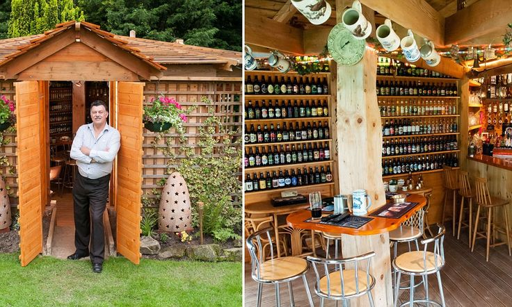 Now that really is a local shed transformed into a pub crowned britain s best in annual competition - Britains craziest sheds competition ...