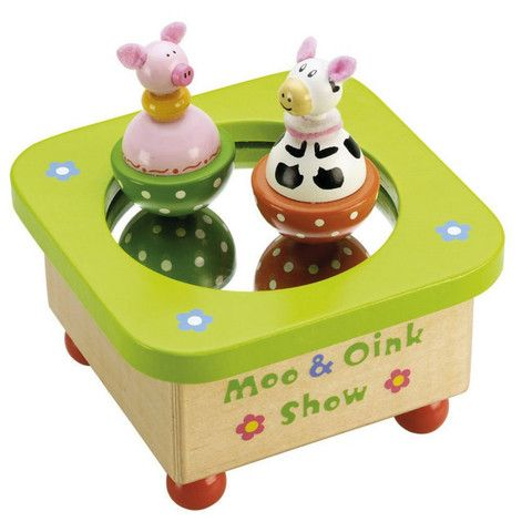 The Moo and Oink Show Music Box | When I Was a Kid