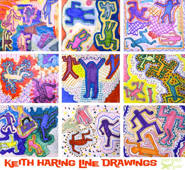 Keith Haring Art Project | Deep Space Sparkle