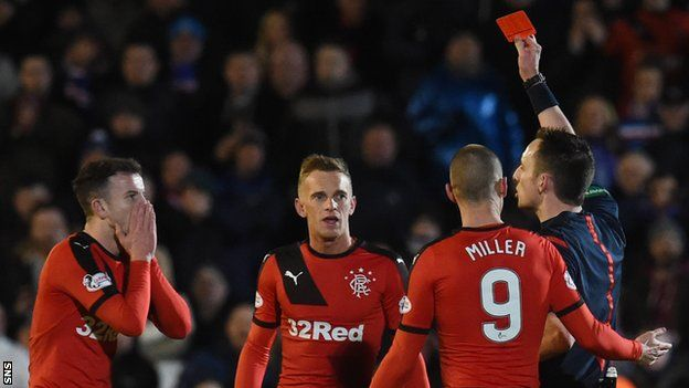 Rangers' Kenny Miller wants appeals against two yellow cards