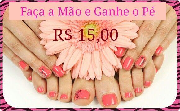 PROMOÇÃO RELÂMPAGO    Válida de 31/08 á 05/09... #viaderme#manicure#linda#unhas#ingleses