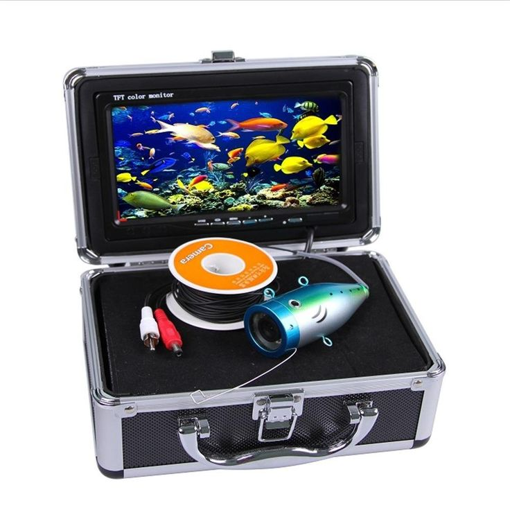 Underwater Fishing Camera 7 Inch TFT LCD Video Camera 900TVL Fish Finder with 15M Cable * Check out the image by visiting the link.