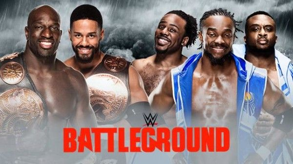 The Prime Time Players vs The New Day - WWE Battleground