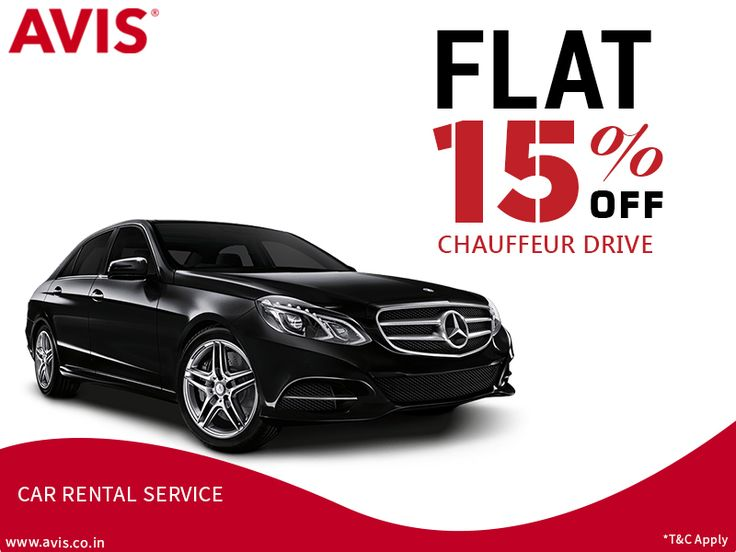 AVIS India is offering flat 15% off on its chauffeur assisted car rental services. AVIS is India's most dependable car rental service company that has a large fleet of the new and well-maintained cars of most of the luxury and premium brands. AVIS operates in more than 30 Indian cities. Book a car with AVIS India today and get 15% discount on the final bill. Visit http://bit.ly/1wTNgZi for more information on AVIS car rental services.