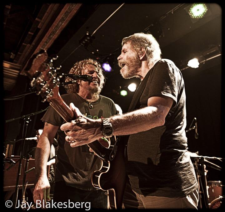 Sammy Hagar with Bobby Weir & Ratdog