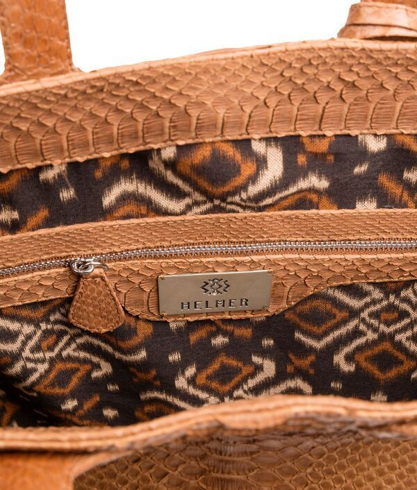 Adele Shopper details. Most of our bags are lined with beautiful batik from Bali.