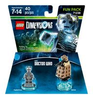 Boxshot: LEGO Dimensions Fun Pack: Cyberman (Dr. Who) by Warner Home Video Games