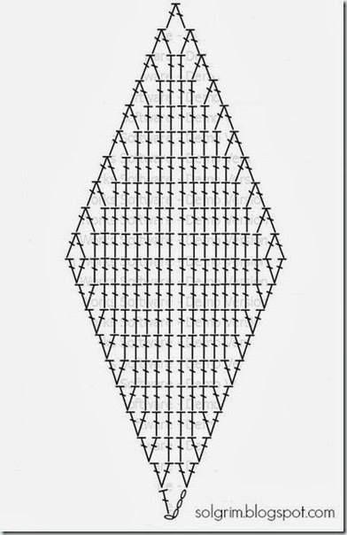 Crochê On Line - Paps, Gráficos e Vídeos : Tapete 3 D em Crochê com Gráfico