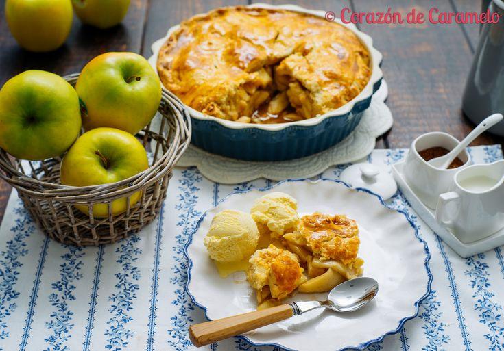 https://flic.kr/p/sT2dXJ | American Apple Pie | Blog Corazón de Caramelo www.corazondecaramelo.es