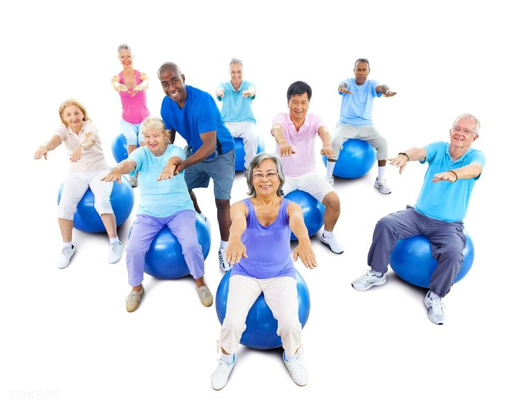 Download Premium Image Of Healthy Senior People At The Gym 22123 Exercise Senior Fitness Elderly Care