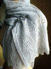 Fern Frost Scarf Knit Pattern