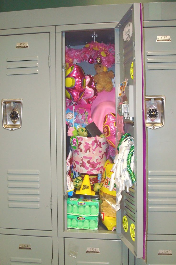 Decor Locker Decorations Ideas Contents Locker Filled With Supplies Christmas Such As Balloons And Other Needs Looks Locker So Overcrowded The Fun yet Artsy Locker Decorations Ideas for Girls