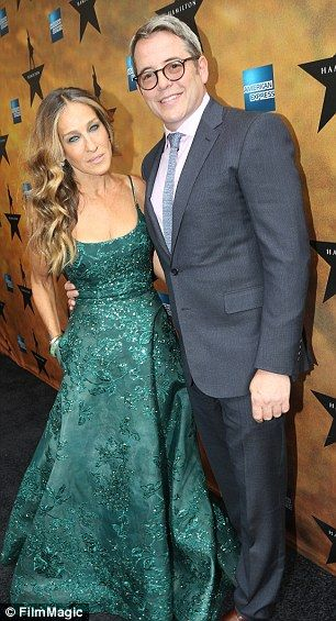 Hollywood's happiest couple: Sarah Jessica Parker and husband Matthew Broderick have been ...