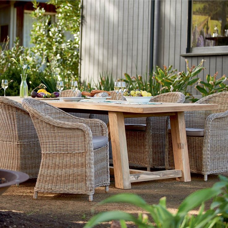 Highgate Table with 8 Verdun Chairs Package - Packages - Outdoor