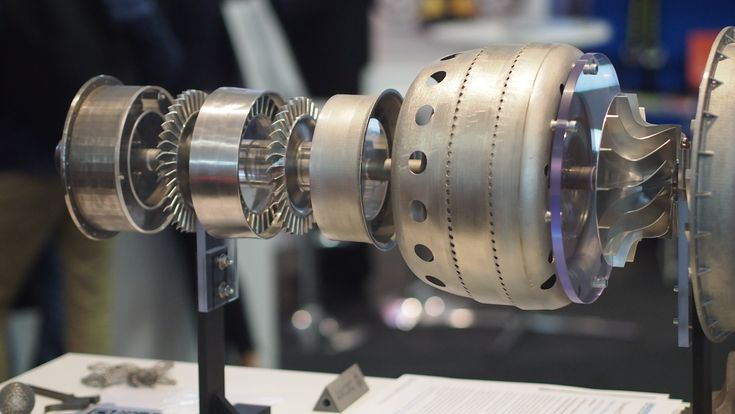 First 3D Printed Jet Engine #3DPrinting