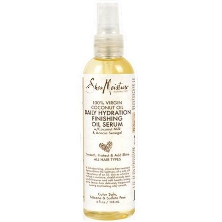 Shea Moisture 100% Virgin Coconut Oil Daily Hydration Finishing Oil Serum 4 oz $11.69 Visit www.BarberSalon.com One stop shopping for Professional Barber Supplies, Salon Supplies, Hair & Wigs, Professional Product. GUARANTEE LOW PRICES!!! #barbersupply #barbersupplies #salonsupply #salonsupplies #beautysupply #beautysupplies #barber #salon #hair #wig #deals #sales #SheaMoisture #Virgin #CoconutOil #Daily #Hydration #Finishing #Oil #Serum