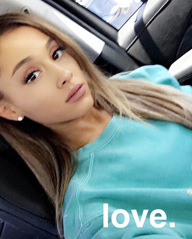 These Are the Best Celebrity Hair Changes From Instagram So Far Ariana Grande Ariana showed off her blond tips in a quick Instagram selfie.