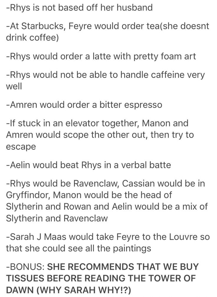 Why would we need tissues before ToD? It doesn't even include the court of Terrasen/Adarlan. Does Nesryn die? Does Yrene die? (I don't care whether Chaol dies. I've been hoping he would for a while.)