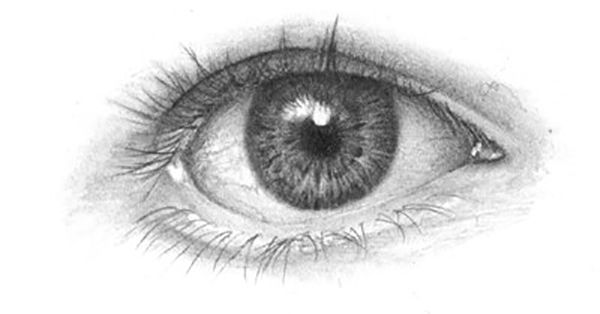Instagram:@onlypencil Twitter:@onlypencil We can all probably draw the human eye, we draw the oval shape with the iris and pupil. I consider that to be a basic sketch of the eye. Before you draw a realistic eye you must first study what it really is. I will post a closeup picture of an eye so you can see what it looks up close. We all have them, but I'm sure that most of us haven't really paid attention to what it really looks like up close.