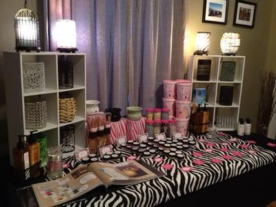 Pink Zebra: Pink Zebra has 51 scents of fragrances.  You can mix and match our wax sprinkles to make your own fancy candle and scents.  We also sell reed diffusers,