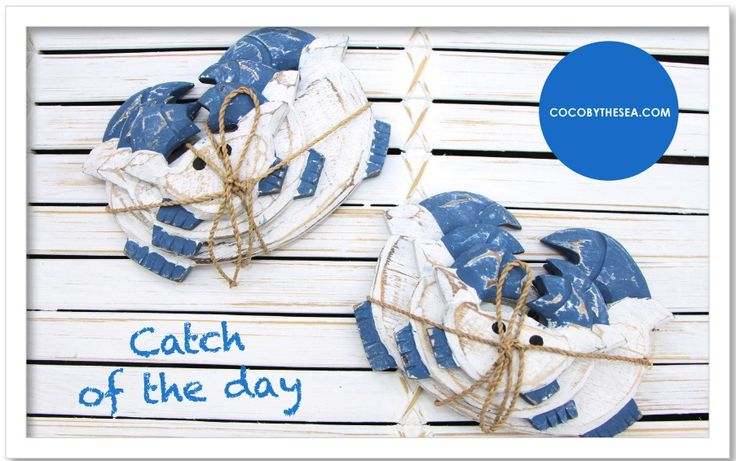 Animals - COCO BY THE SEA  #crabs #catchoftheday #cocobythesea #decorations #homedecor #homeaccessories #coastal #nautical #tropical #coastalliving #nauticalliving #nauticaldecor #beachliving #islandliving #gifts #newarrivals www.cocobythesea.com