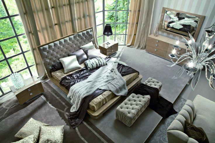 Giorgio Sunrise Bedroom Cal King Size Bed 332
