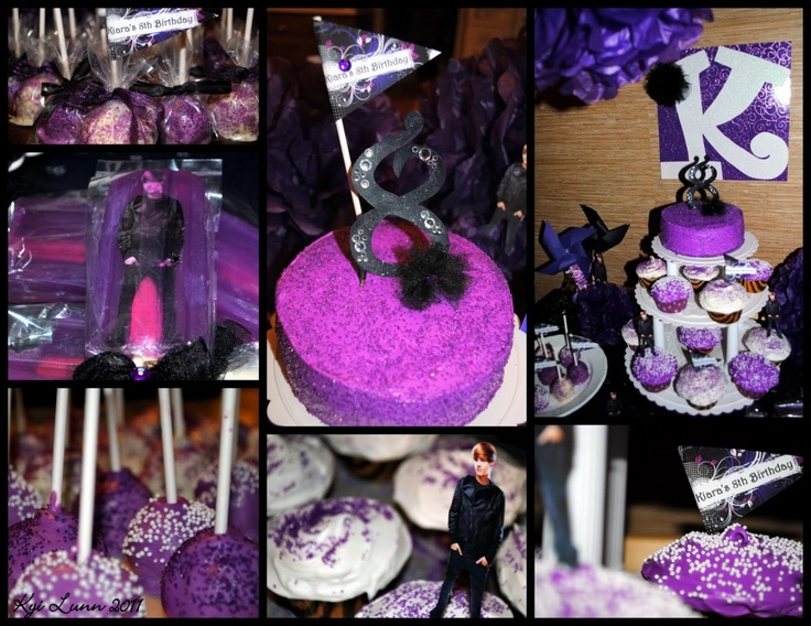Justin Bieber Birthday Party ideas    (maybe for E?)