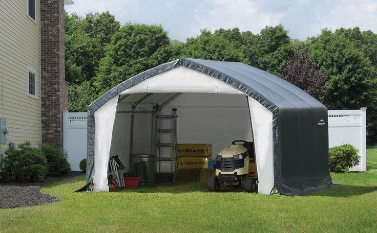 ShelterLogic 70923 12X15X9 Accelaframe Shelter, Hd 7.5 Oz
