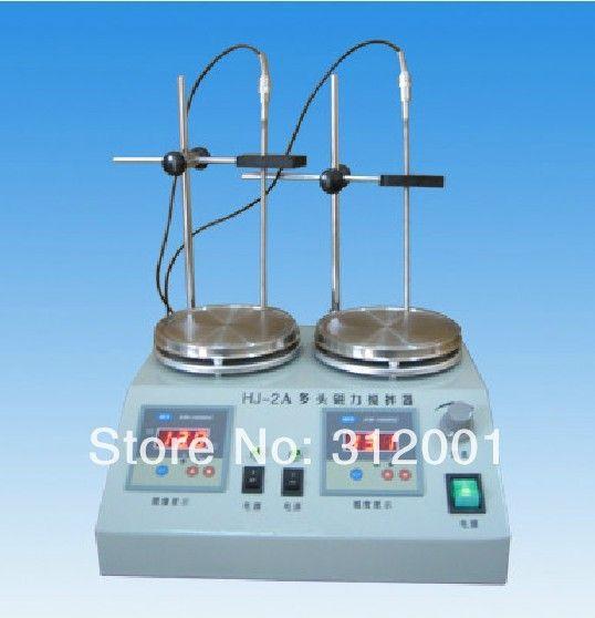 Купить товарНовый 2 шт. мульти   блок цифровой термостатический магнитная мешалка плита в категории Прочие инструменты измерения и анализана AliExpress.         2 единиц мульти-блок цифровой Термостатический магнитная мешалка конфорки                    Описание