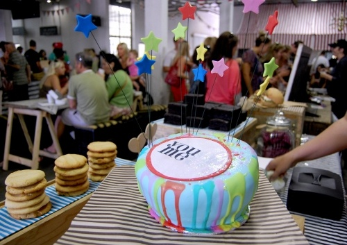 Birthday cake for You&Me Design. @CounterLove