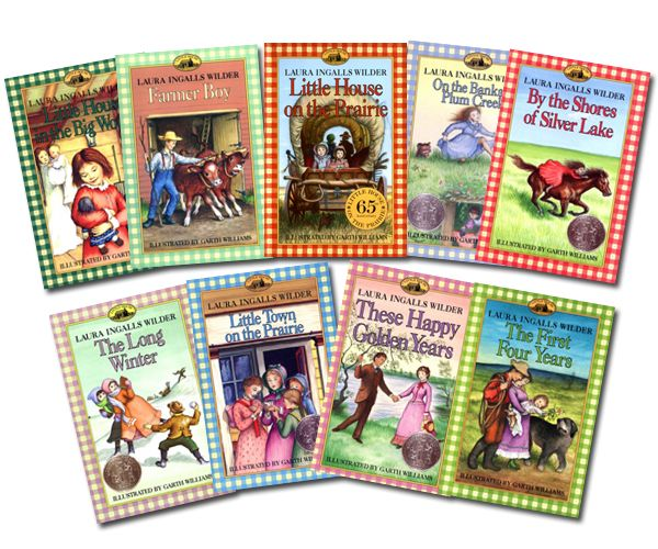 "laura ingalls wilder books | The ""Little House"" series of books"
