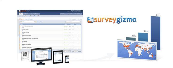 Survey Gizmo Best Online Survey tool on the market!