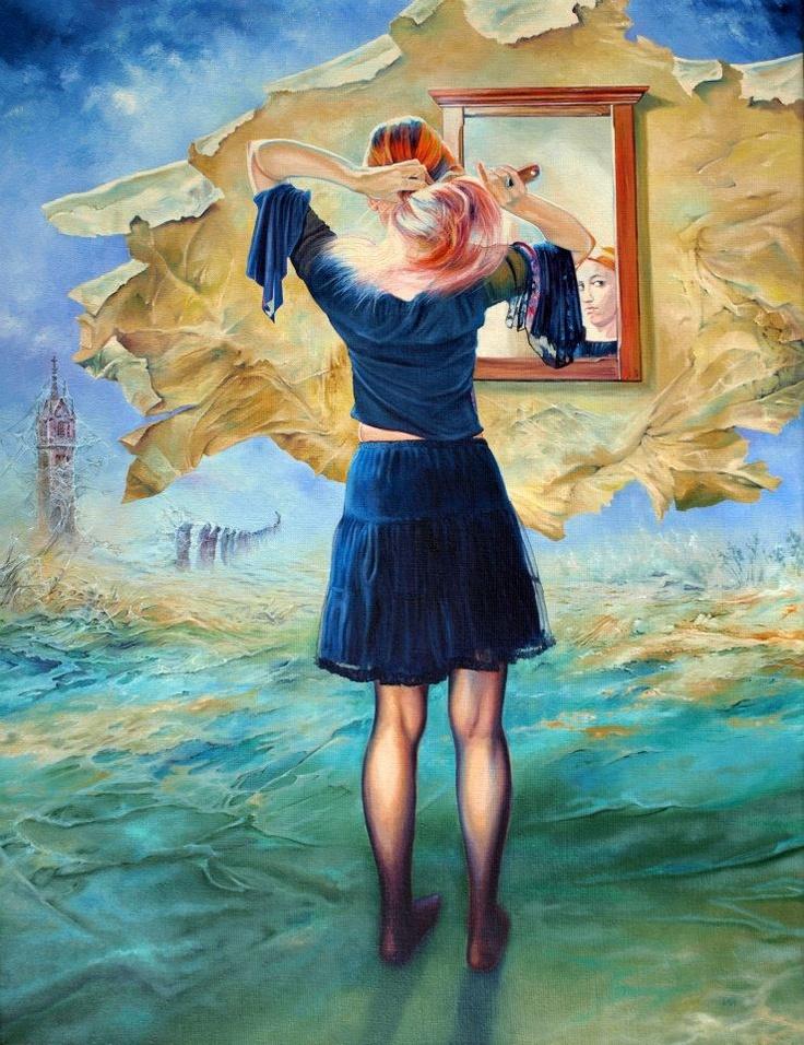 Painting by Włodzimierz Kukliński