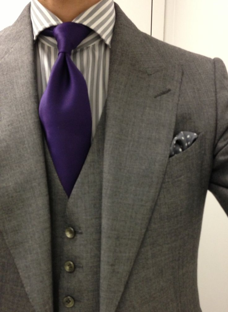 Grey 3 Piece Suit Combinations The