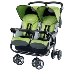 Peg Perego Double Stroller- only 14lbs!!!
