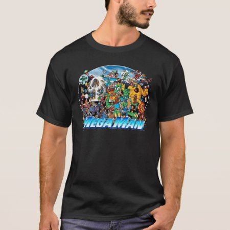 World of Mega Man T-Shirt - tap to personalize and get yours