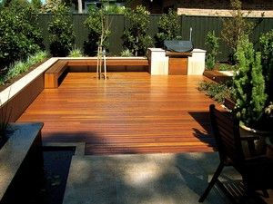 Fully designed deck with bbq by Leisure Decking Timber Decking Melbourne - LEISURE DECKING , Carpenter, Ferny Creek, VIC, 3786 - TrueLocal