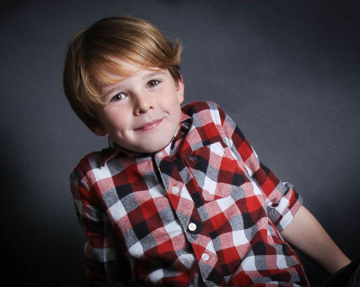 Studio portrait boy #karensndfran