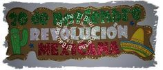 Resultado de imagen para decoracion revolucion mexicana para niños