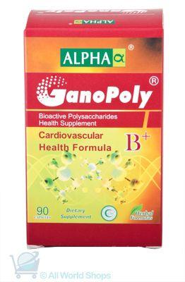 GanoPoly B+ - Cardiovascular Health Formula - Alpha - 90 capsules   Shop New Zealand NZ$145