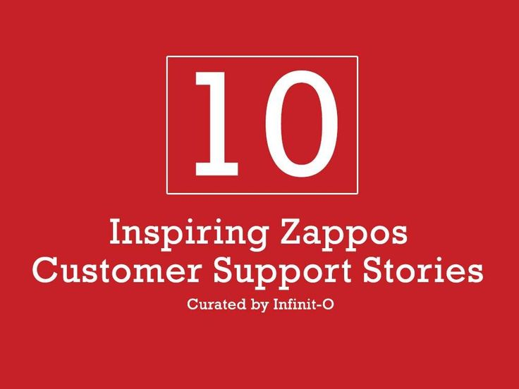 10 small, but meaningful customer service gestures from Zappos