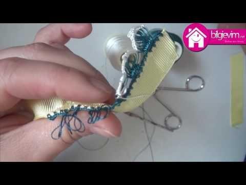 Tığ işi Kalem Oyası Yapılışı Videolu Anlatım - YouTube