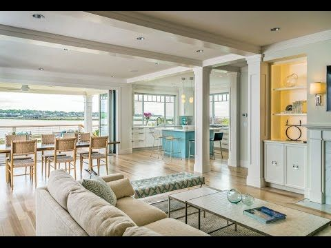 A Beach Chic Summer Home On The Waterfront In Newport Rhode Island Tesa Architecture Builder Horan Building Company Windows Doors JELD WE